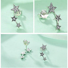 Load image into Gallery viewer, Stackable Stars Earrings - The Silver Goose