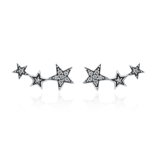 Stackable Stars Earrings - The Silver Goose