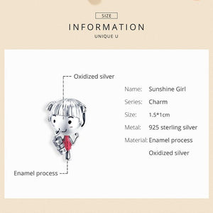 Summer Girl Charm - The Silver Goose