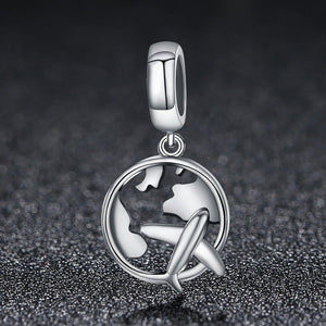 Travel Pendant Charm - The Silver Goose