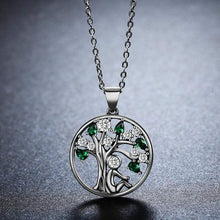 Load image into Gallery viewer, Tree of Life Pendant Necklace - The Silver Goose