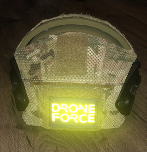 LASER CUT REFLECTIVE DRONE FORCE PATCH