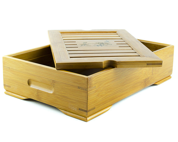 Smalll Bamboo Tea tray - Gung Fu Tea Tray