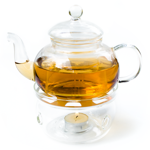 Tea Pot Warmer - Glass
