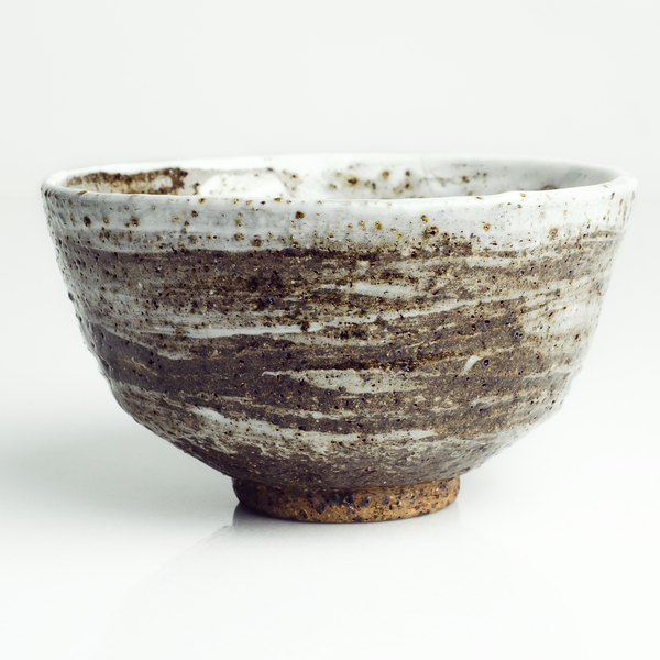 Iron Rustic Stoneware Tea Bowl