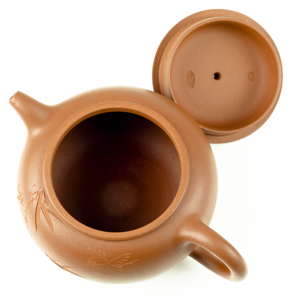 Yixing Clay Tea Pot - Bamboo Pot 240ml