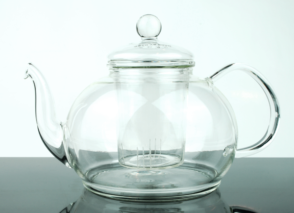 1.2 Litre Large Dripless Glass Tea Pot with Infuser