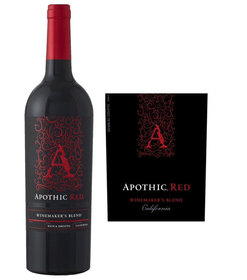 Apothic Red Blend Winemaker's Blend Wine 2018 (750 ml) - BuyWinesOnline.com