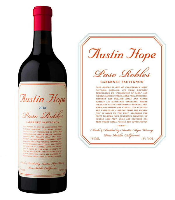 Austin Hope Cabernet Sauvignon 2018 (750 ml)