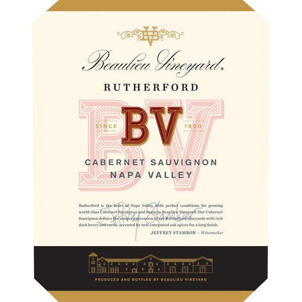 Beaulieu Vineyard Rutherford Cabernet Sauvignon 2015 (750 ml)