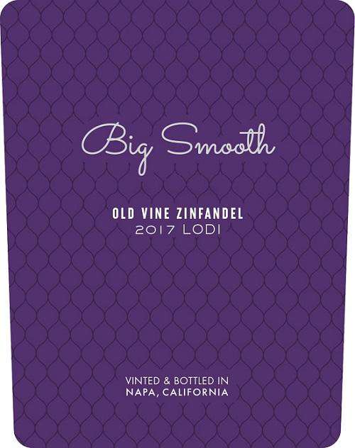 Big Smooth Old Vine Lodi Zinfandel 2017 (750 ml)