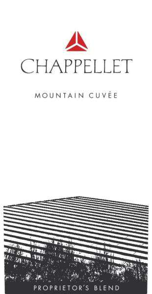 Chappellet Mountain Cuvee Bordeaux Blend 2018 (750 ml) - BuyWinesOnline.com