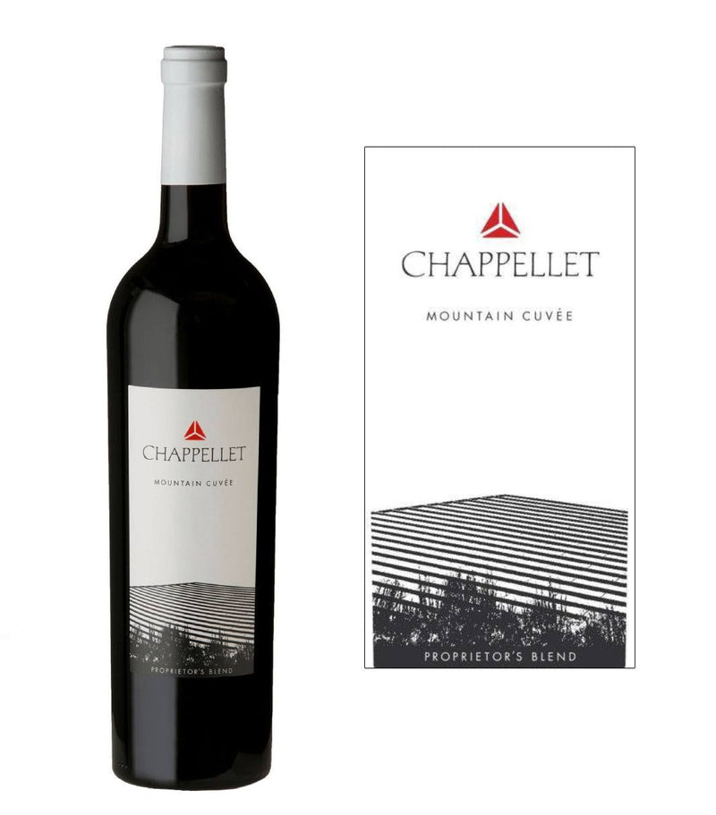 Chappellet Mountain Cuvee Bordeaux Blend 2018 (750 ml)