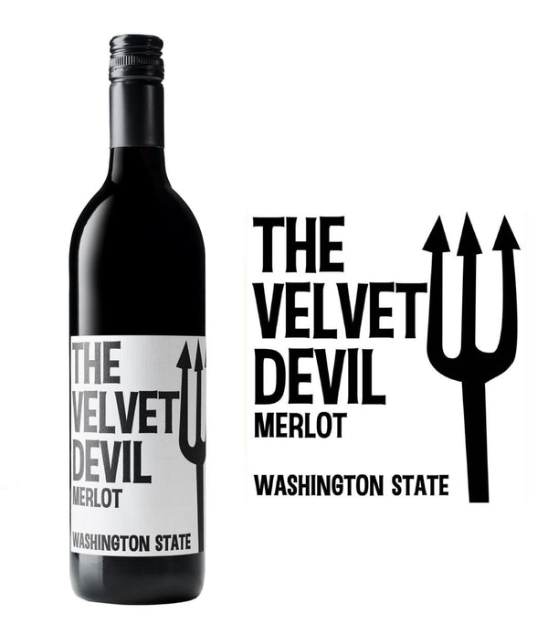 Charles Smith Velvet Devil Merlot 2018 (750 ml)