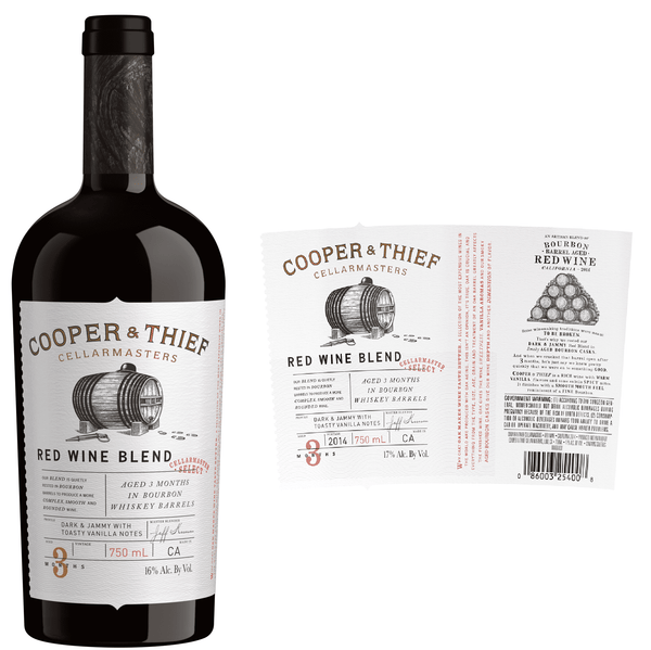 Cooper & Thief Bourbon Barrel Aged Red Blend 2017 (750 ml) - BuyWinesOnline.com