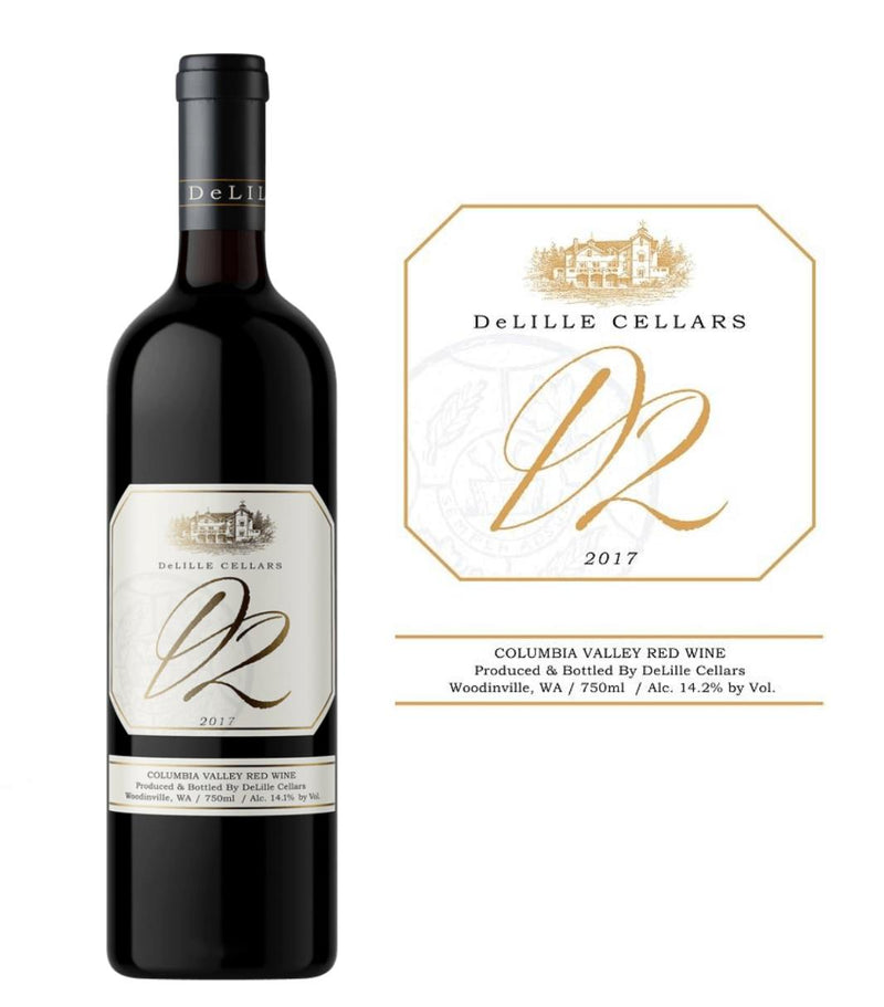 DeLille Cellars D2 Bordeaux Blend 2017 (750 ml)