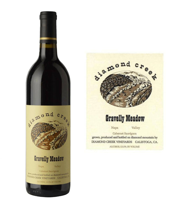 Diamond Creek Gravelly Meadow Cabernet Sauvignon 2017 (750 ml) - BuyWinesOnline.com