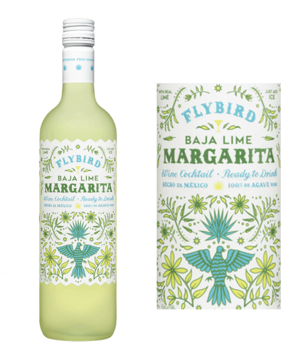 Flybird Baja Lime Margarita Agave Wine Cocktail (750 ml)
