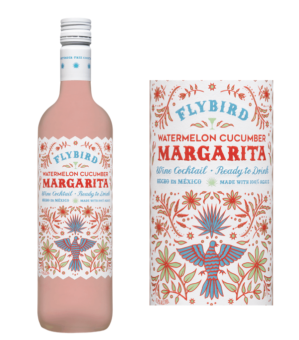 Flybird Watermelon Cucumber Margarita Agave Wine Cocktail (750 ml)