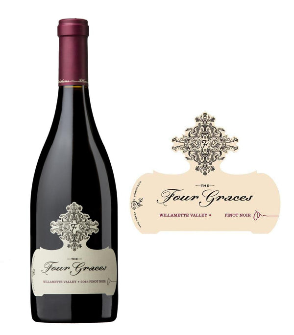 Four Graces Willamette Valley Pinot Noir 2018 (750 ml)