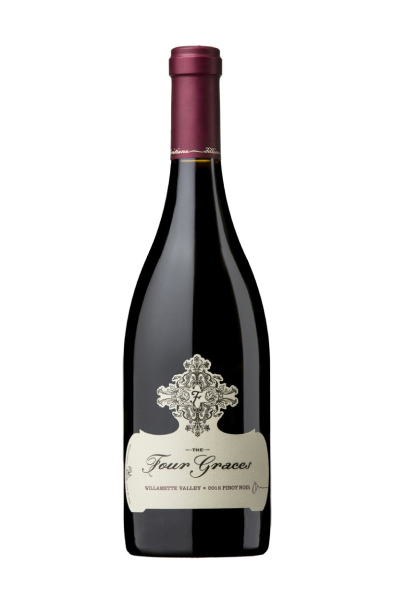 REMAINING STOCK: Four Graces Willamette Valley Pinot Noir 2018 (750 ml)