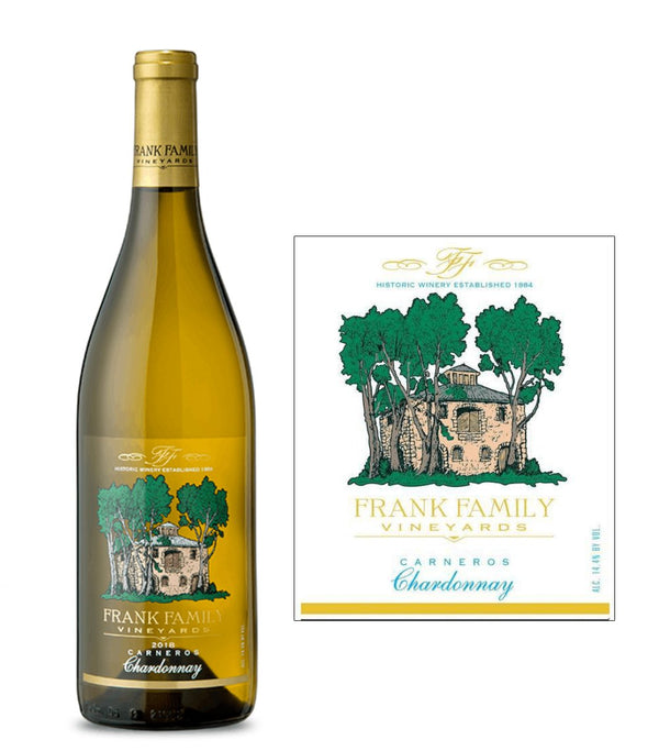 Frank Family Vineyards Chardonnay 2018 (750 ml) - BuyWinesOnline.com