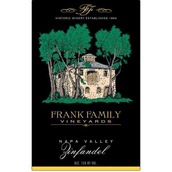 Frank Family Vineyards Zinfandel 2017 (750 ml) - BuyWinesOnline.com