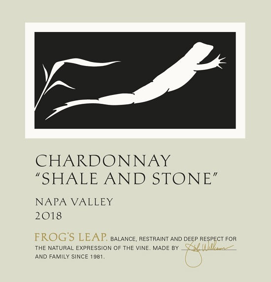 Frog's Leap Shale and Stone Chardonnay 2018 (750 ml)
