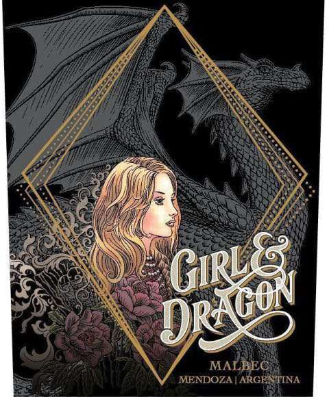Girl and Dragon Malbec 2018 (750 ml) - BuyWinesOnline.com