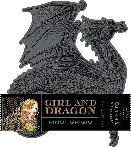 Girl and Dragon Pinot Grigio 2017 (750 ml) - BuyWinesOnline.com