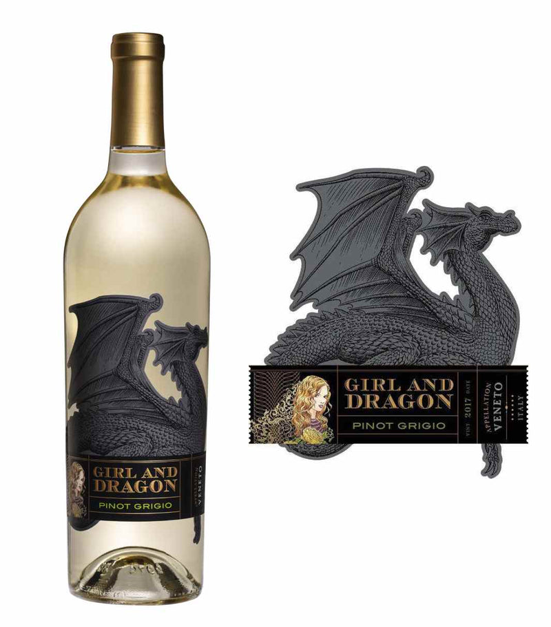 Girl and Dragon Pinot Grigio 2019 (750 ml)