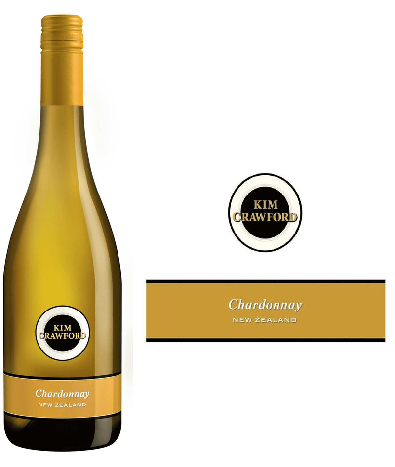 DAMAGED LABEL: Kim Crawford Chardonnay 2019 (750 ml)