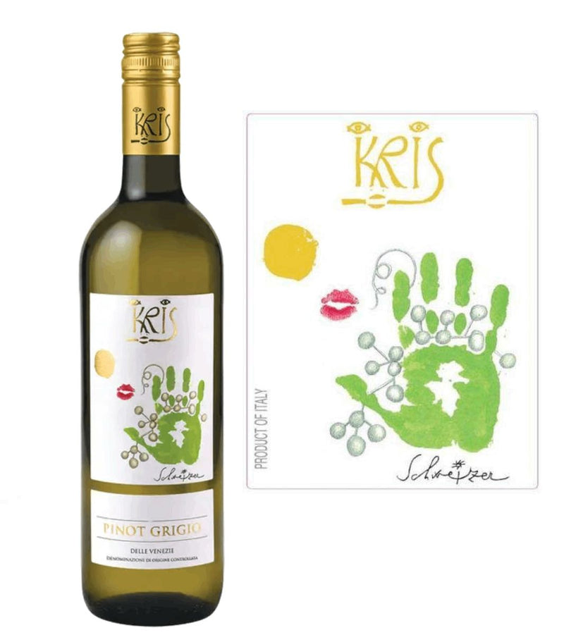 DAMAGED LABEL: Kris Pinot Grigio 2019 (750 ml)