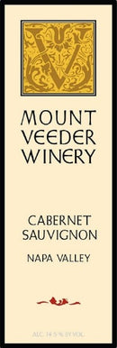 Mount Veeder Winery Napa Valley Cabernet Sauvignon 2018