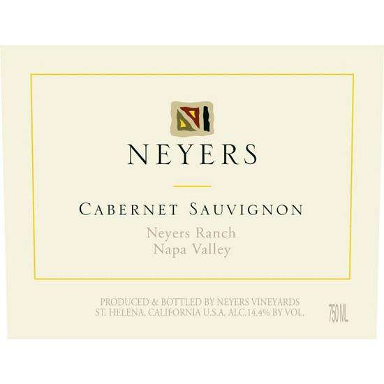 Neyers Ranch Conn Valley Cabernet Sauvignon 2015 (750 ml) - BuyWinesOnline.com