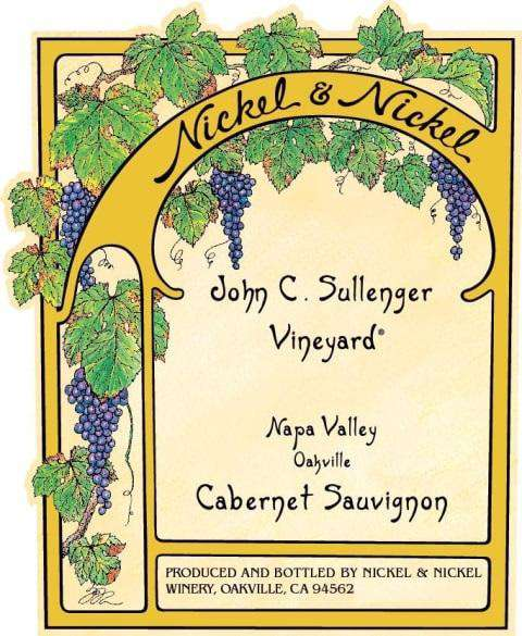 Nickel & Nickel John C. Sullenger Vineyard Cabernet Sauvignon 2017 (750 ml)
