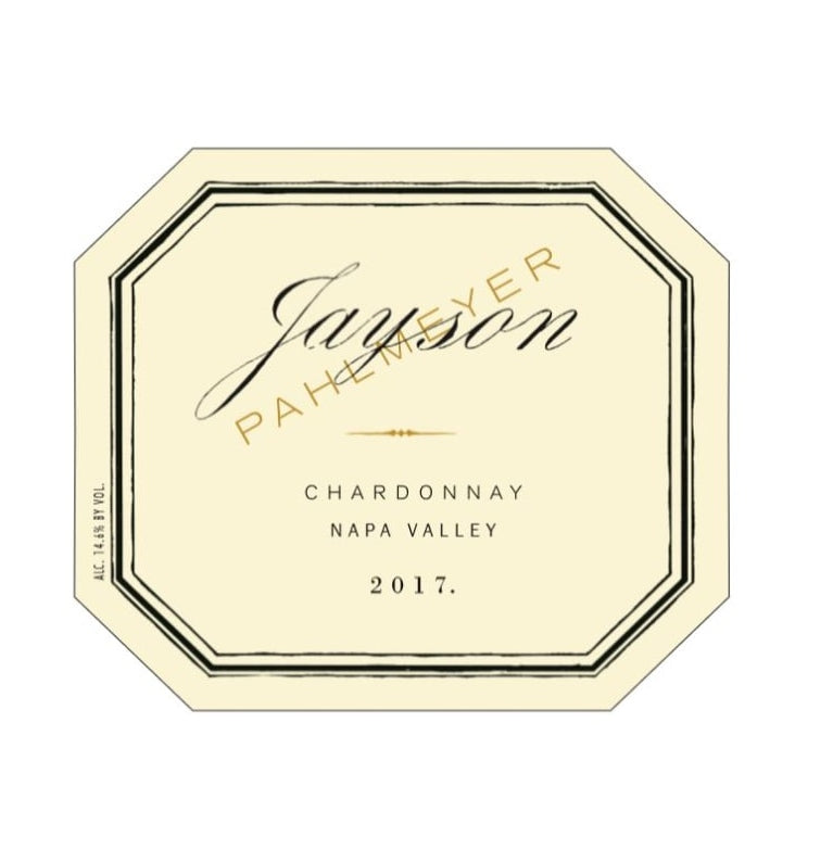 DAMAGED LABEL: Pahlmeyer Jayson Chardonnay 2017 (750 ml)