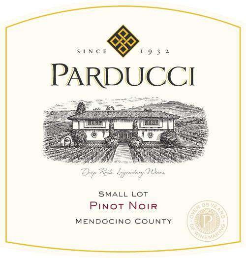 Parducci Small Lot Pinot Noir 2019 (750 ml)
