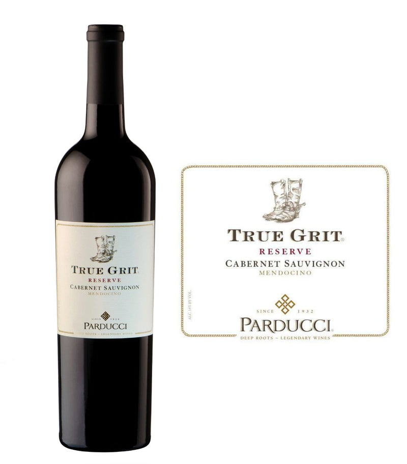 DAMAGED LABEL: Parducci True Grit Reserve Cabernet Sauvignon 2017 (750 ml)