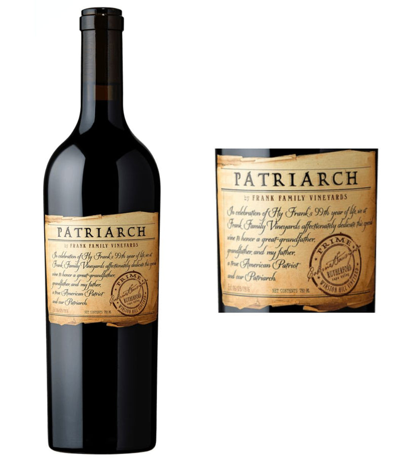 Patriarch Cabernet Sauvignon 2015 by Frank Family Vineyards (750 ml)