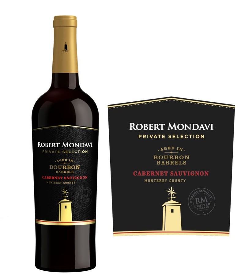Robert Mondavi Private Selection Bourbon Barrels Cabernet Sauvignon 2019 (750 ml)