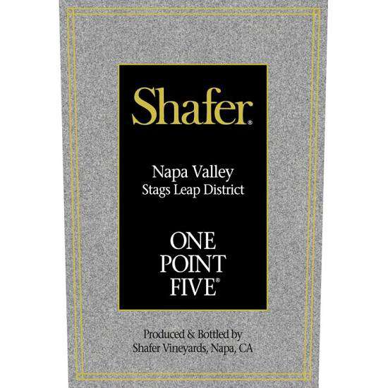 Shafer One Point Five Cabernet Sauvignon 2017 (750 ml) - BuyWinesOnline.com