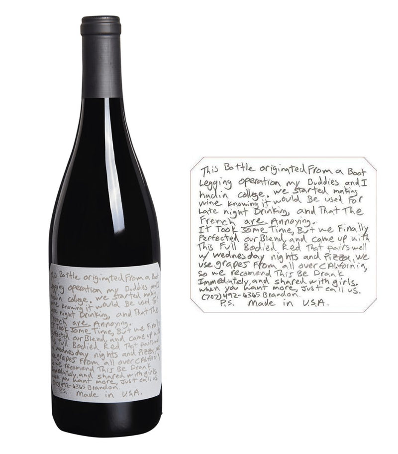 Slo Down Wines Sexual Chocolate Red 2018 (750 ml)