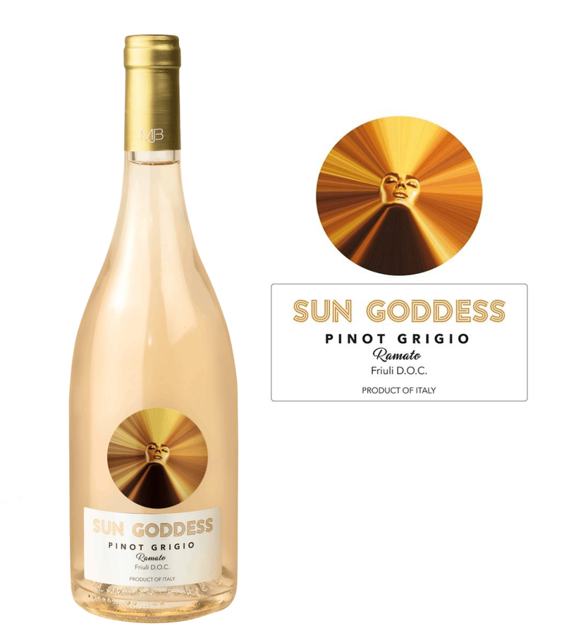 Sun Goddess by Mary J Blige Pinot Grigio Ramato 2019 (750 ml)