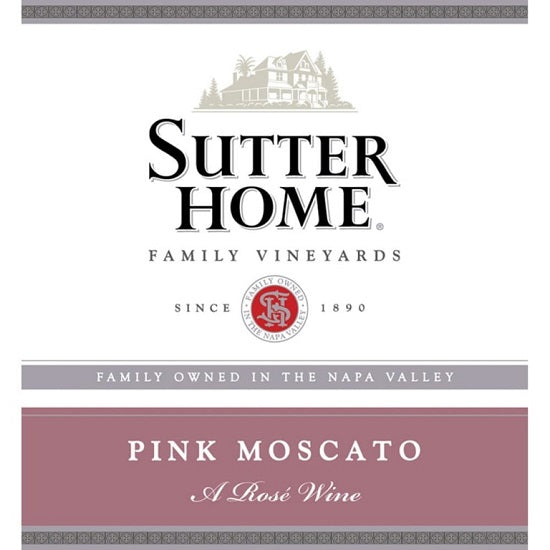 Sutter Home Pink Moscato (750 ml)