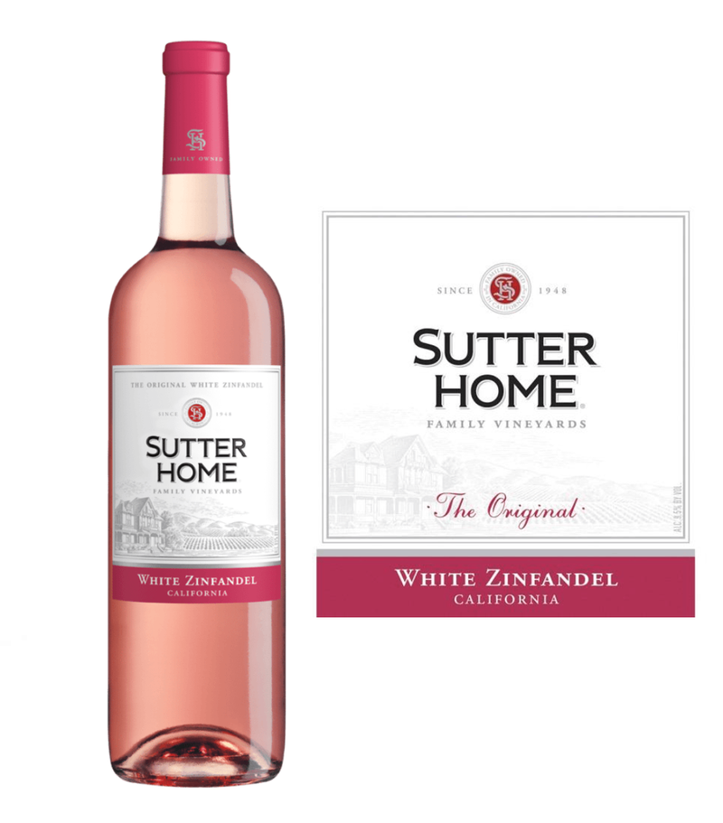 Sutter Home White Zinfandel (750 ml)