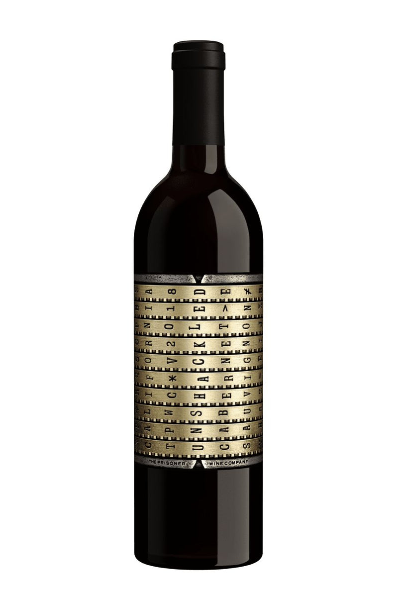 Unshackled by The Prisoner Cabernet Sauvignon 2018 (750 ml)