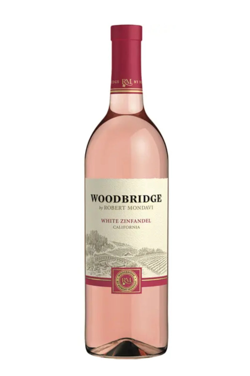 DAMAGED LABEL: Woodbridge White Zinfandel (750 ml)
