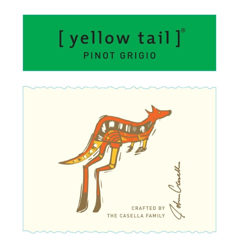 Yellow Tail Pinot Grigio 2019 (750 ml)