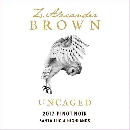 Z. Alexander Brown Uncaged Pinot Noir 2018 (750 ml) - BuyWinesOnline.com